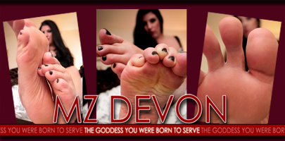 Foot Worship Goddess Mz Devon